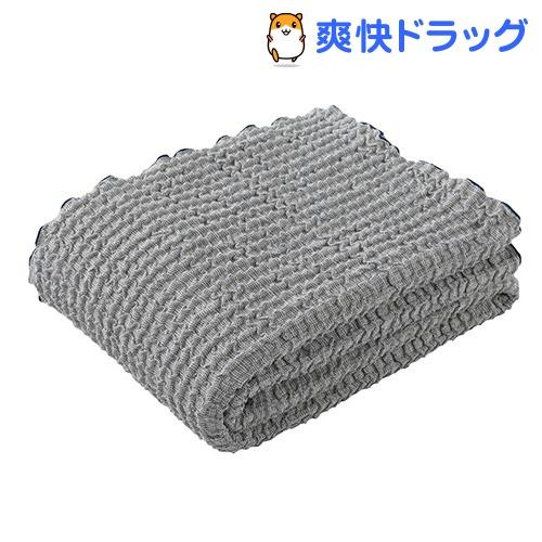 東京西川 さらさらケット ワッフルガーゼ ネイビー シングル RR08131017NV(1枚入)【東京西川】