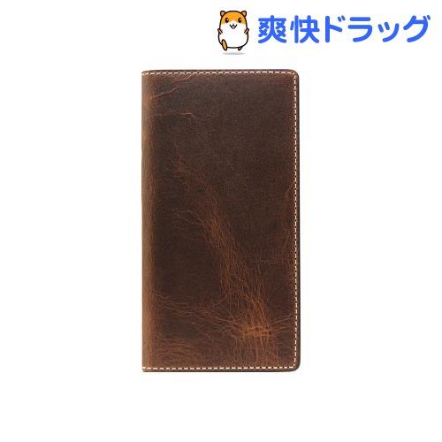エスエルジーデザイン iPhone7 PLus バダラッシーワックスケース ブラウン SD8150i7P(1コ入)【SLG Design(エスエルジーデザイン)】