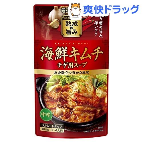 正規品 在庫限り 海鮮キムチチゲ用スープ 750g