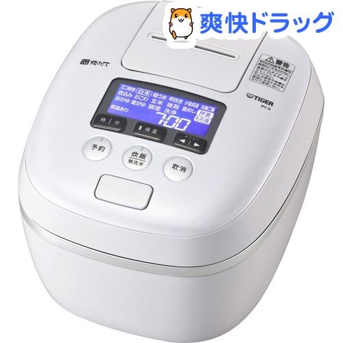 タイガー 圧力IH炊飯ジャー 炊きたて 1升 エアリーホワイト JPC-G180 WA(1台)【タイガー(TIGER)】[炊飯器]