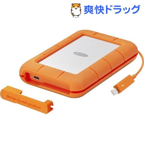 エレコム SSD ポータブル 500GB USB Type-C 耐衝撃 Rugged Thunderbolt STFS500400(1個)【エレコム(ELECOM)】