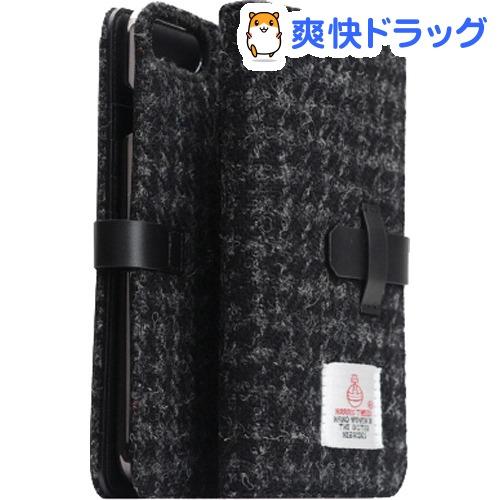 エスエルジーデザイン iPhone7 PLus ハリスツィード ダイアリー ブラック SD8151i7P(1コ入)【SLG Design(エスエルジーデザイン)】