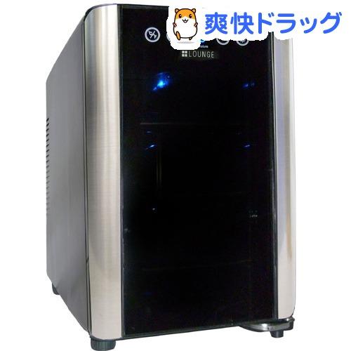 プラスラウンジ フルフラットタッチパネル仕様 6本収納ワインセラー LNE-W306B(1台)【送料無料】