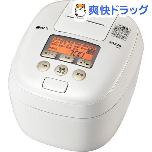 タイガー 圧力IH炊飯ジャー 炊きたて 5.5合 シルキーホワイト JPC-H100 WS(1台)【タイガー(TIGER)】[炊飯器]