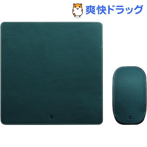 SLG Design マジックマウス専用 ミネルバレザーポーチ&パッド ブルー(1コ)