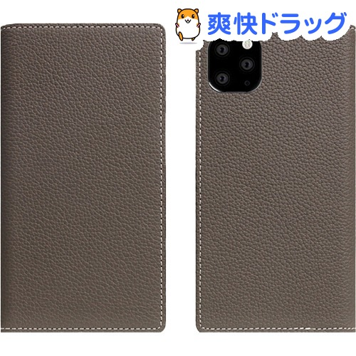 SLG Design iPhone 11 Pro Max Full Grain Leather Case エトフクリーム SD17953i65R(1個)【SLG Design(エスエルジーデザイン)】