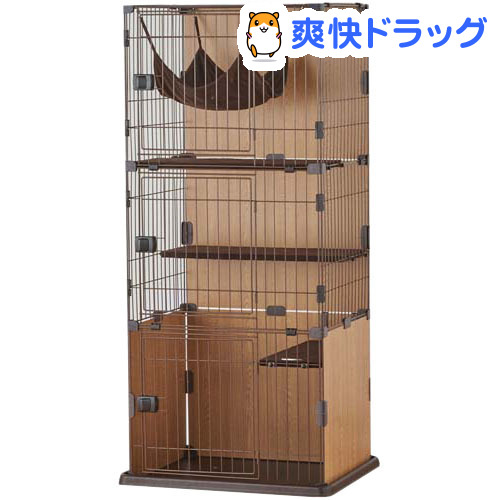 スリムキャットサークル 3段タイプ(1台)【ボンビ】