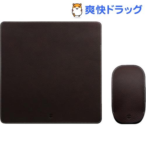 SLG Design マジックマウス専用 ミネルバレザーポーチ&パッド ブラウン(1コ)
