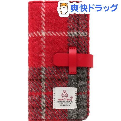 エスエルジーデザイン iPhone X ハリスツイード レッド*グレー SD10554i8(1コ入)【SLG Design(エスエルジーデザイン)】