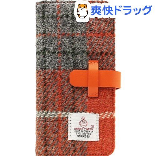 エスエルジーデザイン iPhone X ハリスツイード オレンジ*グレー SD10555i8(1コ入)【SLG Design(エスエルジーデザイン)】