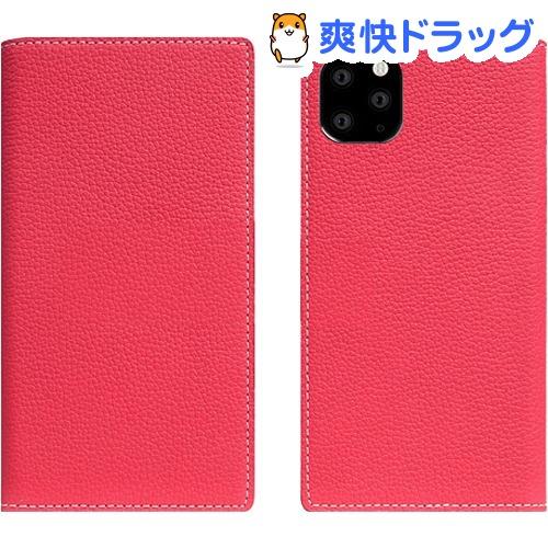 SLG Design iPhone 11 Pro Max Full Grain Leather Case ピンクローズ SD17955i65R(1個)【SLG Design(エスエルジーデザイン)】