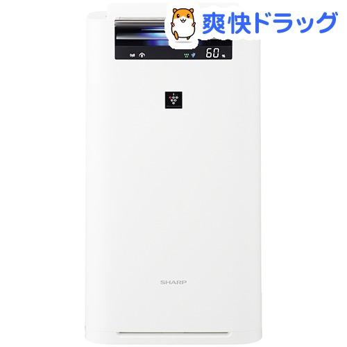 シャープ 加湿空気清浄機 ホワイト系 KI-HS50-W(1台)【シャープ】