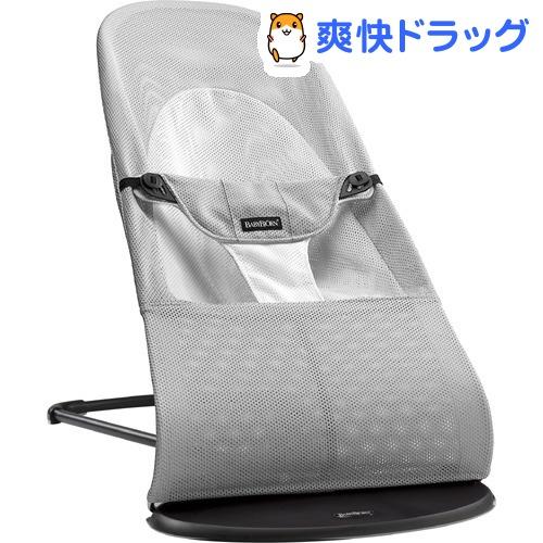 ベビービョルン バウンサー バランスソフト メッシュ グレーホワイト 005029(1コ入)【ベビービョルン(BABY BJORN)】
