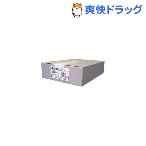 エーワン パソコンプリンタ&ワープロラベルシール(プリンタ兼用) 12面 28725(500シート)