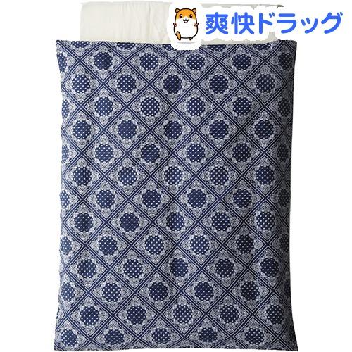 布団5点セット ペイズリーブルー(1セット)【カトージ(KATOJI)】