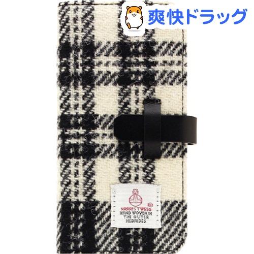 エスエルジーデザイン iPhone X ハリスツイード ホワイト*ブラック SD10558i8(1コ入)【SLG Design(エスエルジーデザイン)】