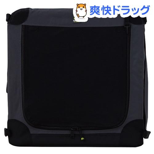 ソフトケンネル ブラック 72 小・中型犬対応 屋内屋外対応の折畳み式ハウス(1コ入)
