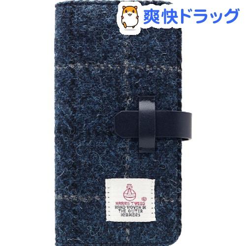 エスエルジーデザイン iPhone X ハリスツイード ネイビー SD10559i8(1コ入)【SLG Design(エスエルジーデザイン)】