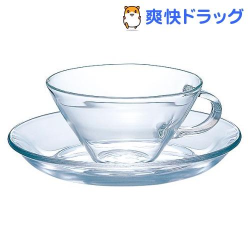 ハリオ HARIO CSW-1T 耐熱カップ ソーサー 優先配送 内祝い 1コ入 ワイド