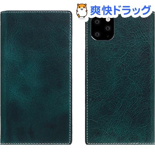 SLG Design iPhone 11 Pro Badalassi Wax case グリーン SD17861i58R(1個)【SLG Design(エスエルジーデザイン)】