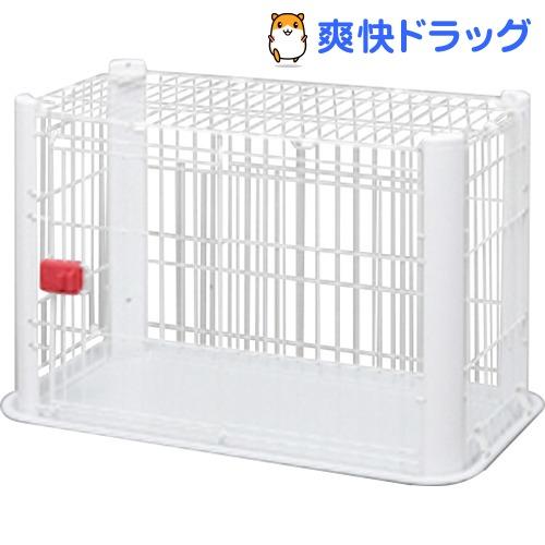 アイリスオーヤマ カラースリムケージ 1段 P-CSC-901 ホワイト(1コ入)【アイリスオーヤマ】