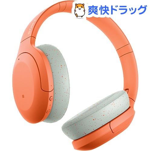 ソニー ワイヤレスノイズキャンセリングステレオヘッドセット WH-H910N DM オレンジ(1台)【SONY(ソニー)】