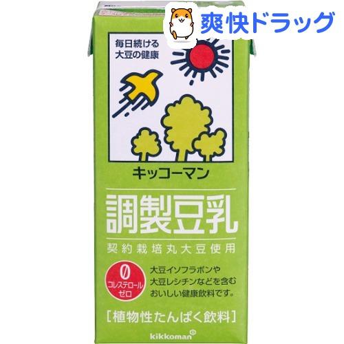 キッコーマン 調製豆乳 1L 6本入 訳あり品送料無料 早割クーポン