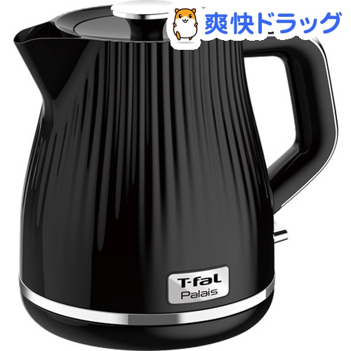 ティファール 電気ケトル パレ ブラック 1.0L KO2528JP(1台)【ティファール(T-fal)】