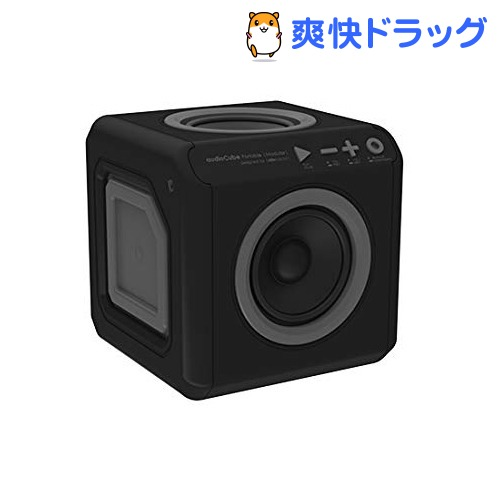 allocacoc オーディオキューブ ブラック audioCube PortabLe US BLACK 3901BK/USACPT(1コ入)