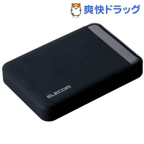 エレコム SeeQVauLt対応2.5inch外付けHDD ブラック ELP-QEN010UBK(1コ入)【エレコム(ELECOM)】