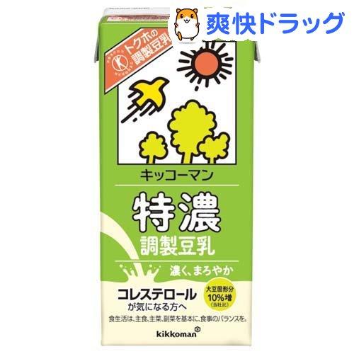 キッコーマン 豪華な 完売 特濃調製豆乳 6本入 1L