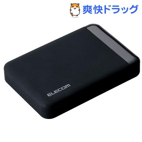エレコム SeeQVauLt対応2.5inch外付けHDD ブラック ELP-QEN020UBK(1コ入)【エレコム(ELECOM)】