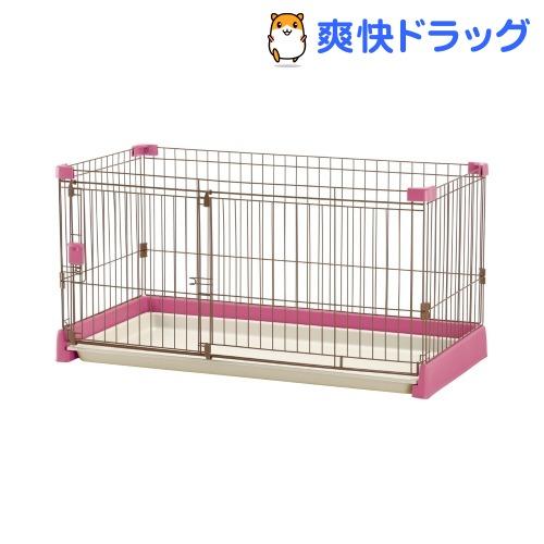リッチェル お掃除簡単サークル 120-60 ピンク(1台)