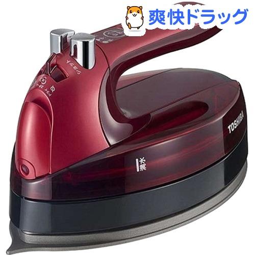 東芝 コードレススチームアイロン レッド TA-FLW700(R)(1台)【東芝(TOSHIBA)】