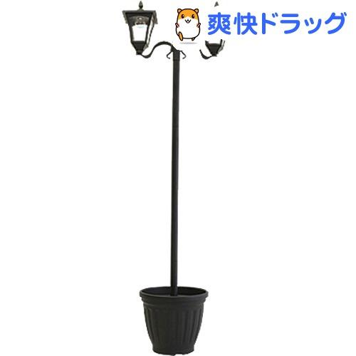 植木鉢付きソーラー街灯(2灯)