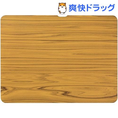 ハチ クールアルミプレート 木調 L(1枚入)【ハチ(hachi)】