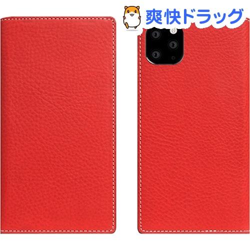 SLG Design iPhone 11 Pro Minerva Box Leather Case レッド SD17866i58R(1個)【SLG Design(エスエルジーデザイン)】