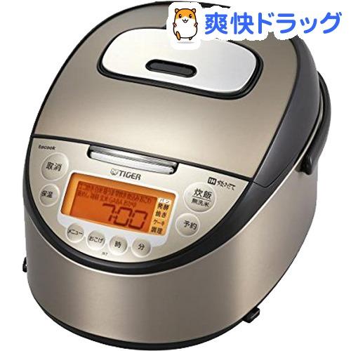 タイガー IH炊飯ジャー 炊きたてtacook 1升 JKT-J181 パールブラウン(1台)【タイガー(TIGER)】