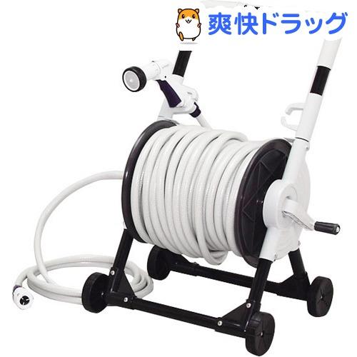 アイリスオーヤマ キャリングホースリール グレー 50m(1コ入)【アイリスオーヤマ】