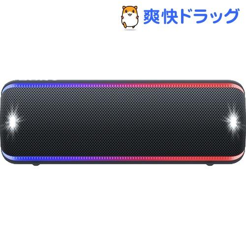 ソニー ワイヤレススピーカー ブラック SRS-XB32 BC(1個)【SONY(ソニー)】