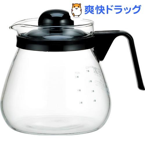 イワキ iwaki レンジのポット 最新アイテム 1コ入 コーヒー1000 KT7966-BK2 SALENEW大人気!