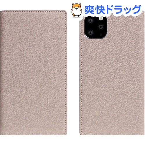 SLG Design iPhone 11 Pro Full Grain Leather Case ライトクリーム SD17869i58R(1個)【SLG Design(エスエルジーデザイン)】