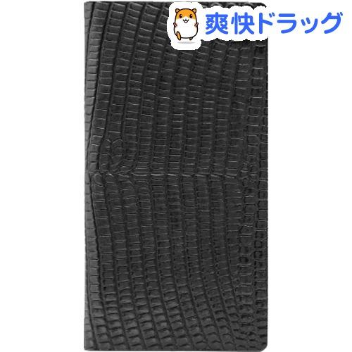エスエルジーデザイン iPhone6s/6 リザードケース ブラック SD6669iP6S(1コ入)【SLG Design(エスエルジーデザイン)】