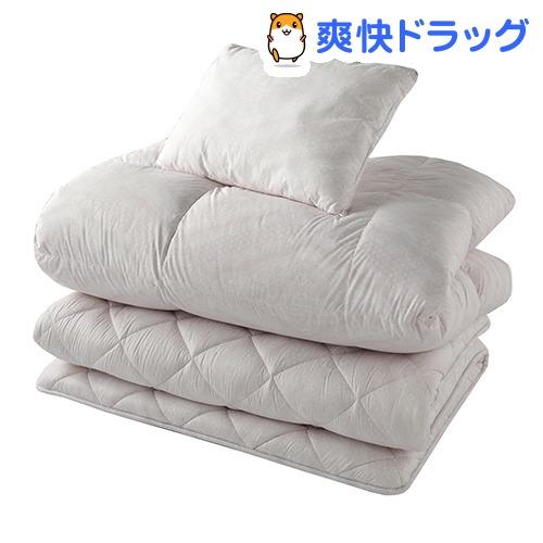 東京西川 布団セット 3点 シングル ピンク KF08000001P(1セット)【東京西川】