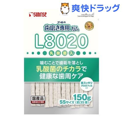 全品最安値に挑戦 ゴン太 市場 サンライズ ゴン太の歯磨き専用ガム SSサイズ 150g クロロフィル入り L8020乳酸菌入り