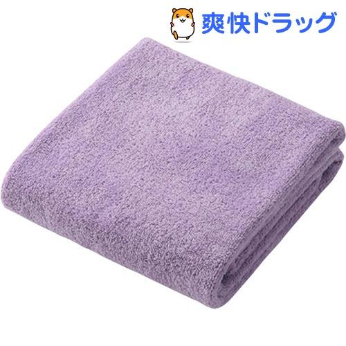 日本正規品 カラリ carari マイクロファイバー パープル 大規模セール フェイスタオル 1枚入