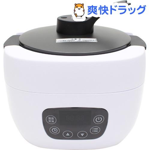 ヒロ・コーポレーション 多機能調理糖質OFF炊飯器 ホワイト NC-F180WH(1台)【ヒロ・コーポレーション】