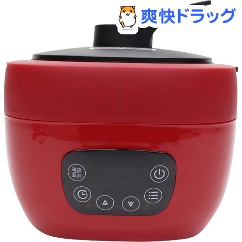 ヒロ・コーポレーション 多機能調理糖質OFF炊飯器 レッド NC-F180RD(1台)【ヒロ・コーポレーション】