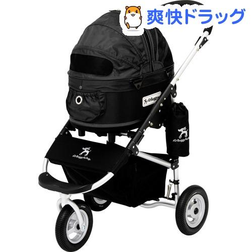 エアバギーフォードッグ ドーム2 SMセット ブラック(1台)【AIRBUGGY FOR PET】:爽快ドラッグ
