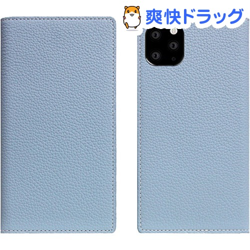 SLG Design iPhone 11 Pro Full Grain Leather Case パウダーブルー SD17875i58R(1個)【SLG Design(エスエルジーデザイン)】